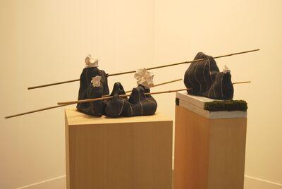 Luana Perilli, 'Sgraffito bamboo', 2015