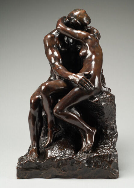 Auguste Rodin, 'Le Baiser (The Kiss) 3rd Reduction', Conceived in 1886 and cast in bronze by the Barbedienne Foundry-Paris between 1898 and 1919.