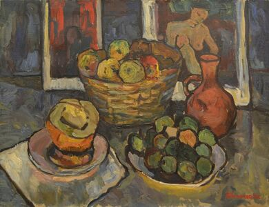 Vadim Semenovich Velichko, 'Fruits and melon', 1970