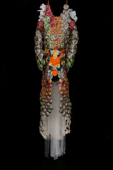 Sandra Lapage, 'Sharp garments for desperate shamans: shield dress', 2020