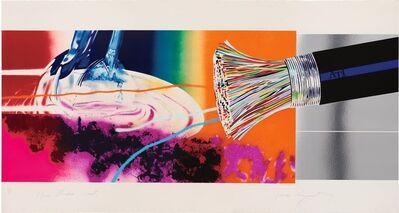James Rosenquist, 'Horse Blinders (East)', 1972