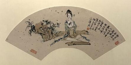 Liu Guohui 劉國輝, 'Beauty in the Bamboo Grove', 1997