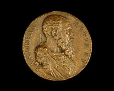 Leone Leoni, 'Andrea Doria, 1468-1560, Genoese Admiral [obverse]', 1541