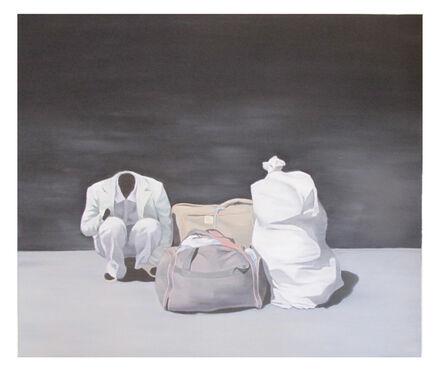 Nguyen Thai Tuan, 'Black Painting No. 62', 2008-2010