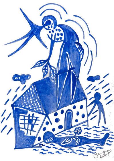 Hervé Yamguen, 'L'oiseau bleu #8', 2020