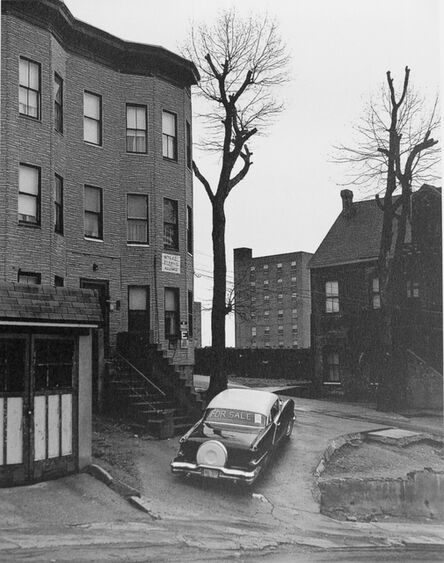 George Tice, 'Car For Sale, Cliff Street, Paterson, NJ', 1969