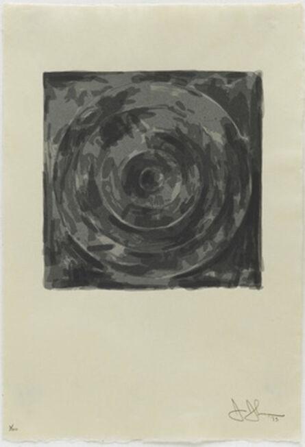 Jasper Johns, 'Target, from the Meyer Shapiro Portfolio', 1973