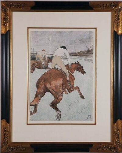 Henri de Toulouse-Lautrec, 'Les Jockeys - Chevaux de Courses', ca. 1899