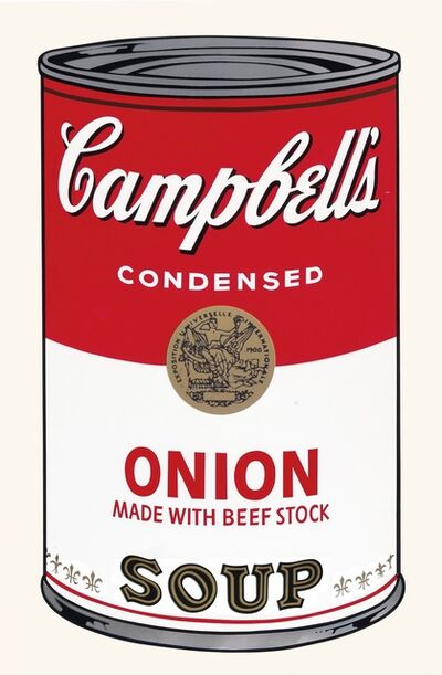 Andy Warhol, 'Campbell's Soup I: Onion', 1968