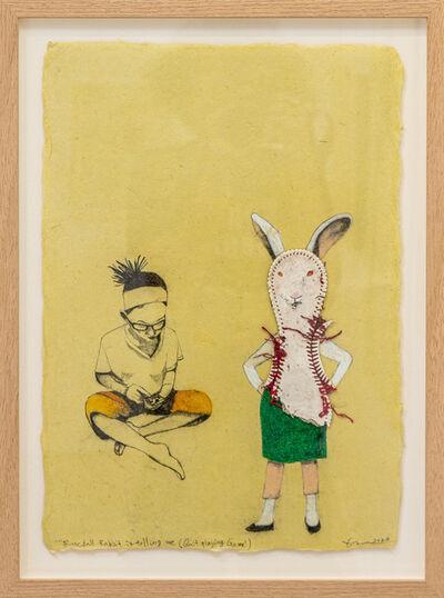 Kaoru Mansour, 'Baseball Rabbit Is Telling Me  (Quit Playing Game)', 2021