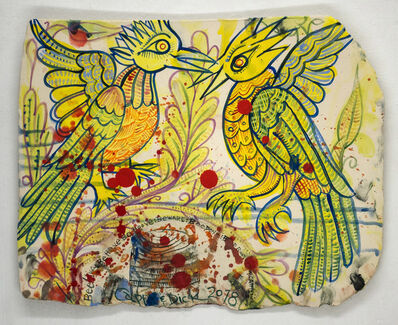 Cappy Thompson and Dick Weiss, 'BIRD AND BEES', 2018