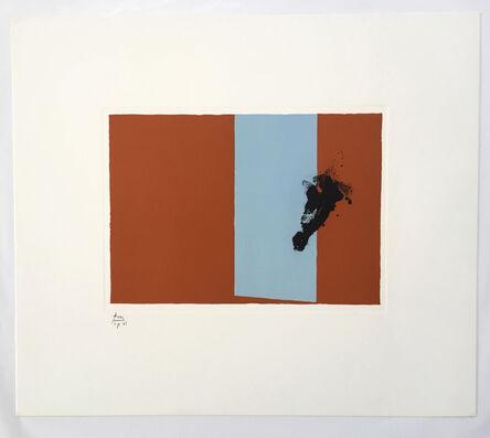 Robert Motherwell, 'Autumn, from Paris Suite III', 1980