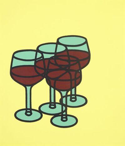 Patrick Caulfield, 'Wine Glasses', 1969