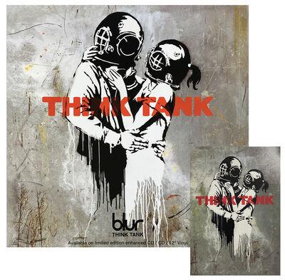 Banksy, 'BLUR 'Think Tank' (LP Flat + Postcard)', 2003
