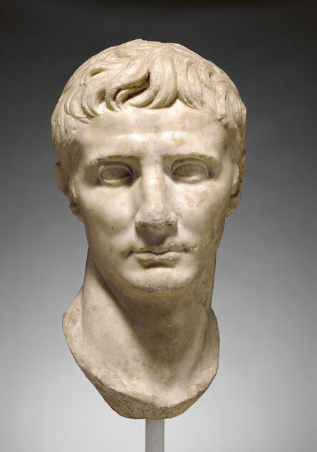 'Portrait Head of Augustus',  25 -1 B.C.