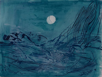 Brian Frink, 'Deluge Blue Green', 2020