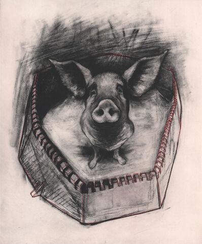 Rita Duffy, 'Pigheaded', 2013