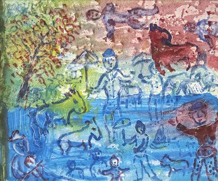 Marc Chagall, 'En Été', 1983