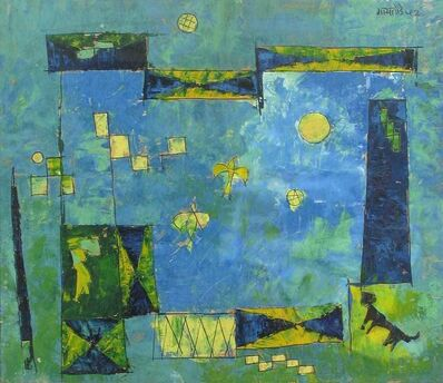 V. S. Gaitonde, 'Untitled', 1952