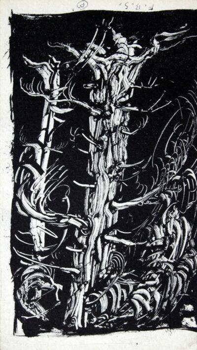 Franciszek Starowieyski, 'A tree', 1970-2000