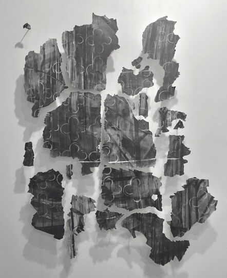 Mauro Giaconi, 'Untitled (fragments of the mural Desde el fondo del tiempo)', 2016