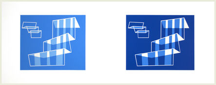 Josef Albers, 'Formulation: Articulation: (Diptych) 1981.524.1.1', 1972
