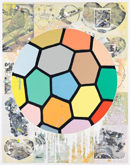 Donald Baechler, 'Colorful Ball', 2011