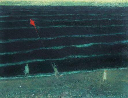 Michael Bennett (1934-2016), 'Back sea iii, red kite series', ca. 2012