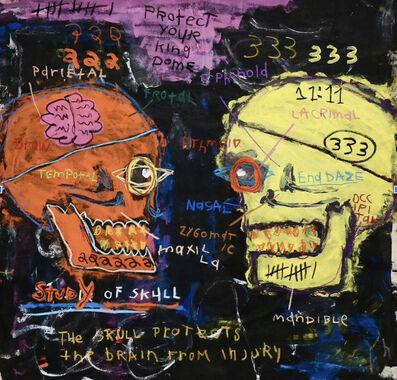Ross Pino, 'Study of Skull', 2020
