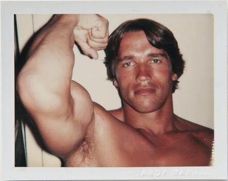 Andy Warhol, 'Andy Warhol, Polaroid Portrait of Arnold Schwarzenegger', 1977