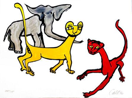 Alexander Calder, 'Our Unfinished Revolution: Animals', 1975-1976