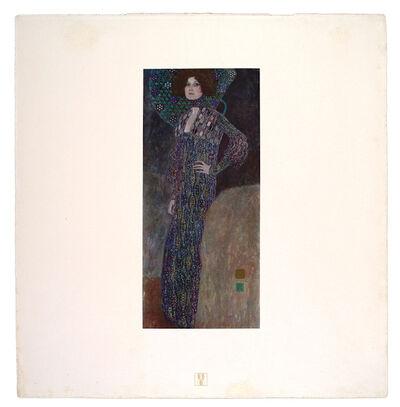 Gustav Klimt, 'Emilie Flöge [Das Werk Gustav Klimts]', 1908-1914