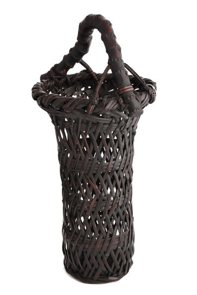 Tanabe Chikuunsai I, 'Basho Plaiting Splayed Flower Basket', 1877-1937