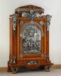 Charles-Guillaume Diehl, 'Cabinet', 1867