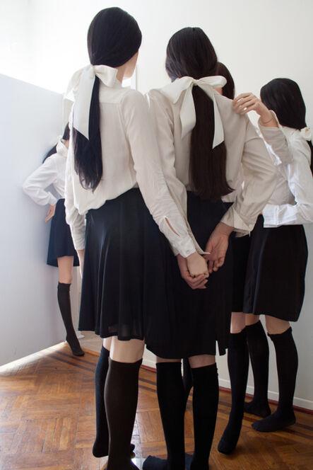 Martine Gutierrez, 'Line Up 2', 2014