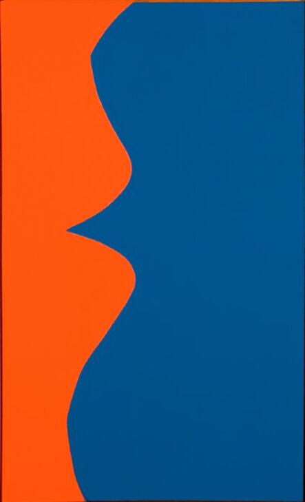 Leon Polk Smith, 'Correspondence Red Blue', 1964
