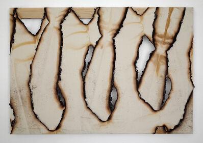 Ariel Schlesinger, 'Untitled (Burnt Canvas)', 2015