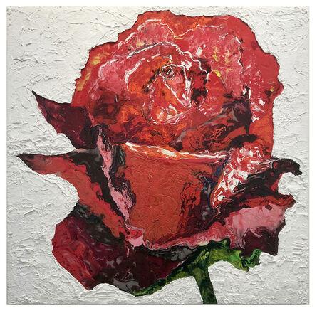 Haleh Mashian, 'Red Rose', 2018