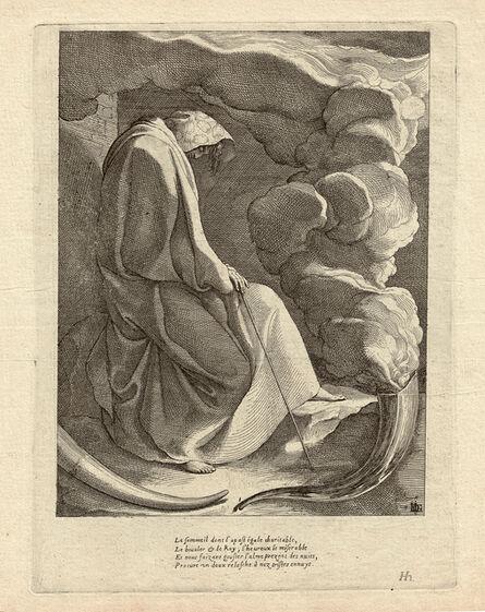 JACQUES DE GHEYN III, 'Sleep', ca. 1616