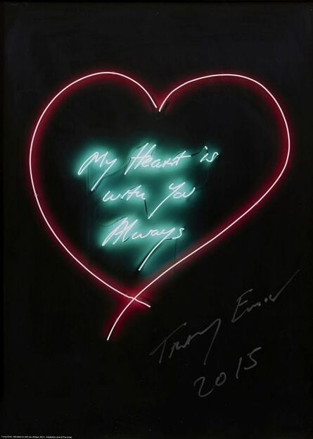 Tracey Emin, 'My Heart is Always with You', 2015