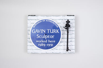 Gavin Turk, 'Heritage Turntable', 2018