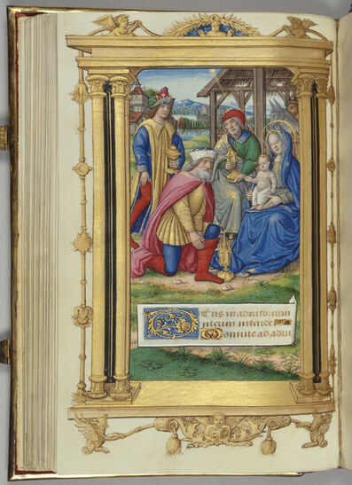 Jean Pichore, 'The Adoration of the Magi from 'Cardinal York's Book of Hours'', ca. 1500