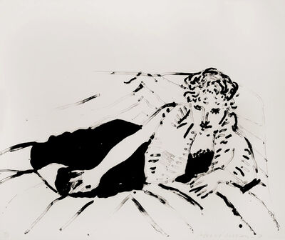 David Hockney, 'Big Celia 1', 1982