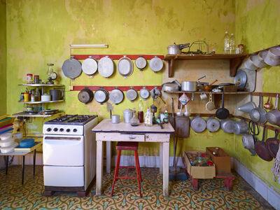 David Burdeny, 'Yellow Kitchen, Havana, Cuba', 2014