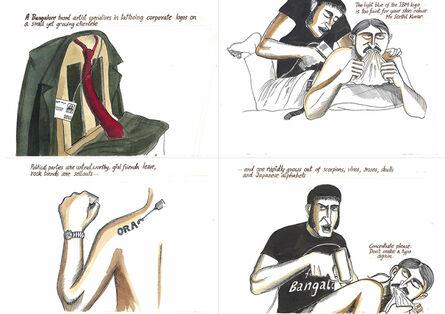 Sarnath Banerjee, 'The Night of The Hunter series'