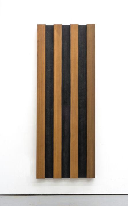 David Nash, 'Red and Black Panel', 2020