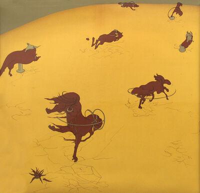 Inka Essenhigh, 'The Western Print', 1999