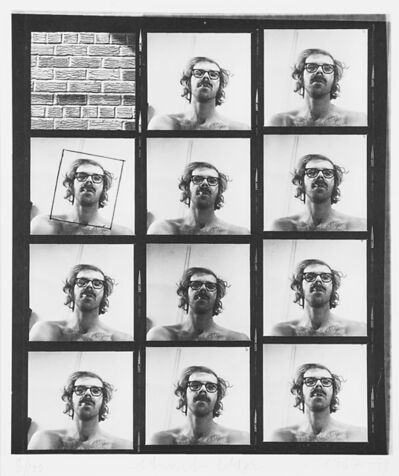 Chuck Close, 'Untitled (Self-Portrait Contact Sheet) from the A.R.T. Press Portfolio'