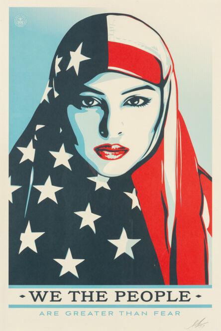 Shepard Fairey, 'We the People', 2017