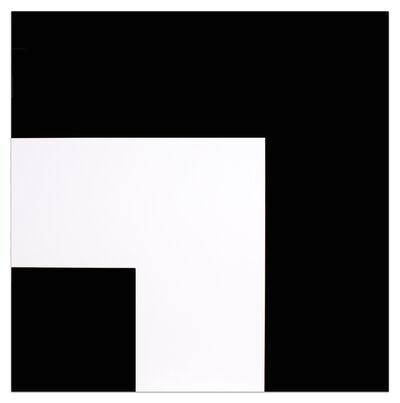 Ellsworth Kelly, 'Two Blacks and White', 2000